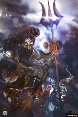 Brand New Designs, Mahadev Artwork | Artist: Pankaj Bhambri, - PosterGully - 1