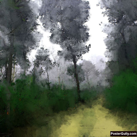 Brand New Designs, Nature Painting Artwork | Artist: Pradeesh K, - PosterGully