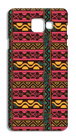 Abstract geometric pattern african style Samsung Galaxy A7 2016 Cases | Artist : Designerchennai