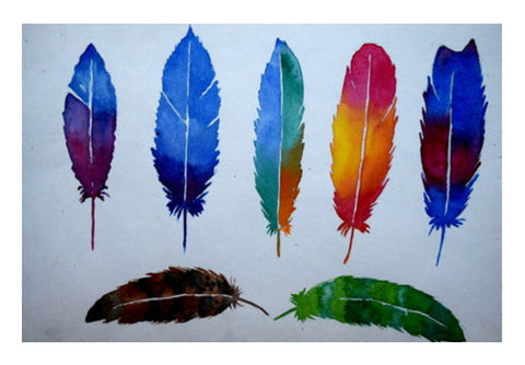 Feathers Wall Art  | Artist : Rahul Tanwar