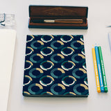 Fashionable 3d circle pattern Notebook | Artist : Designerchennai