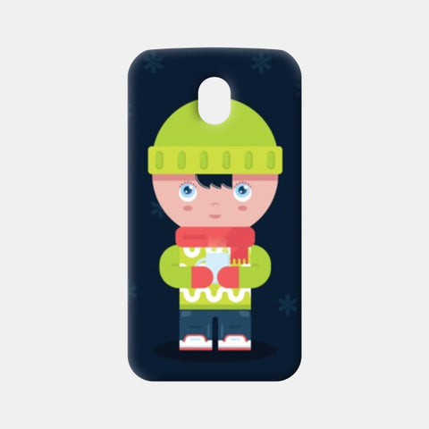 Moto G3 Cases, Cute Winter Times Moto G3 Cases | Artist : Arimit Bhattacharya, - PosterGully