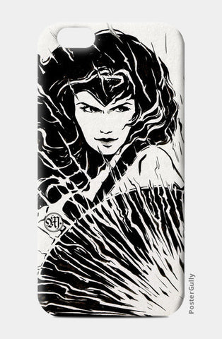 Wonder Woman fan art iPhone 6/6S Cases | Artist : Monisha Miriam