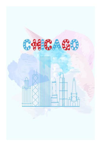 PosterGully Specials, Chicago Wall Art | Artist : Designerchennai, - PosterGully