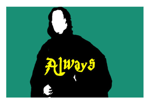 Harry Potter Severus Snape Always  Wall Art  | Artist : Nalin Singh