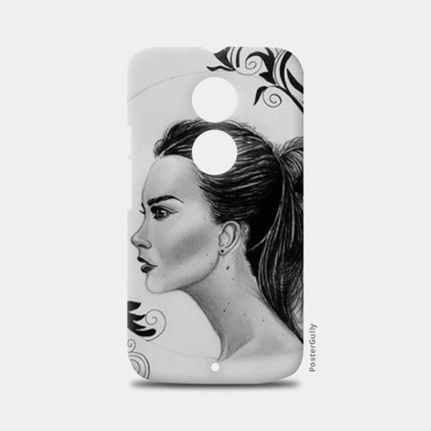 black and white Moto X2 Cases | Artist : Arathy Nair
