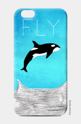 iPhone 6 / 6s, Fly Away Dear Whale iPhone 6 / 6s Case | Artist: Parikshit Deshmukh, - PosterGully