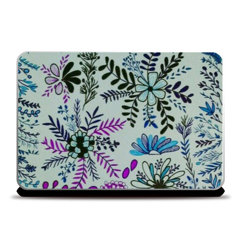 flower for soul Laptop Skins | Artist : Purvisha Sharma