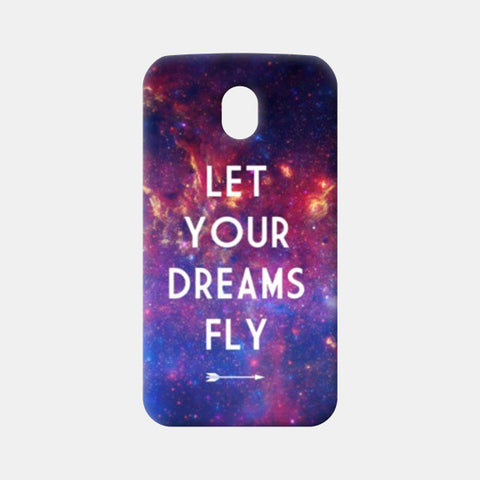 Moto G3 Cases, Let Your Dreams Fly Moto G3 Cases | Artist : Suraaj Ajithakumar, - PosterGully