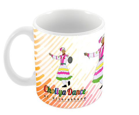 Choliya Dance of Uttarakhand  Coffee Mugs | Artist : Tripund Media Works