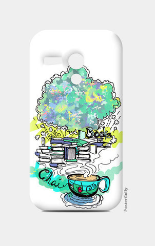 Moto G Cases, Books and Chai Moto G Cases | Artist : Poornima Kumar, - PosterGully