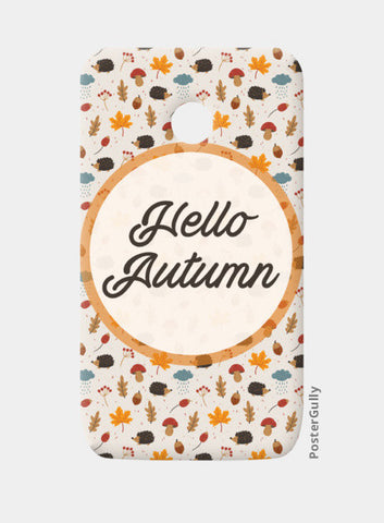 hello autumn Moto E Cases | Artist : DISHA BHANOT