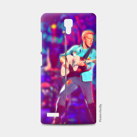 Chris Martin from Coldplay Redmi Note Cases | Artist : Ayushi Jain
