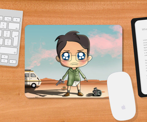 Mousepad, Breaking Bad Smooth Mousepad | Artist : Toshib Bagde, - PosterGully