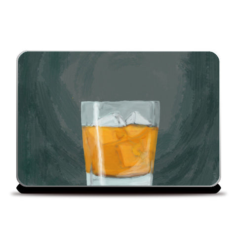 Single Malt scotch whiskey Laptop Skins | Artist : Keshava Shukla