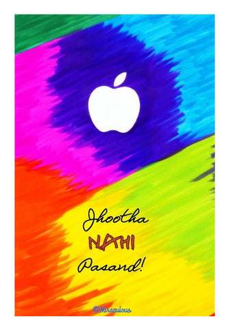 Apple Perfection - Jhootha Nahi Pasand Wall Art | Artist : Miraculous