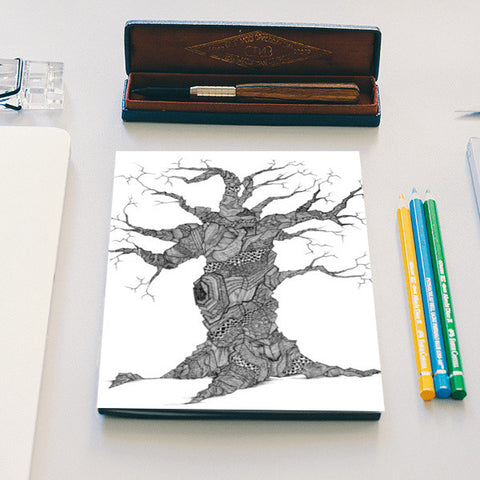 The Tree Notebook | Artist : DoodlesToodles