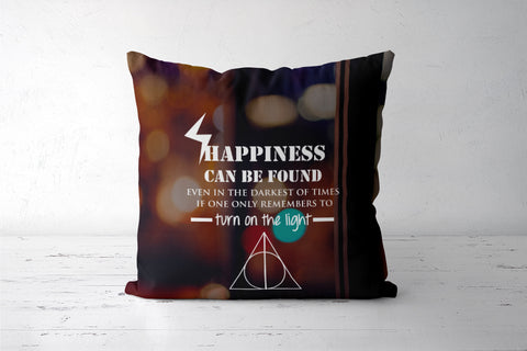 Harry Potter Quotes  Dumbledore Cushion Cover | Artist : Sarbani Mookherjee