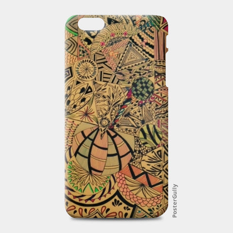 Perceiving patterns iPhone 6 Plus/6S Plus Cases | Artist : Purvisha Sharma