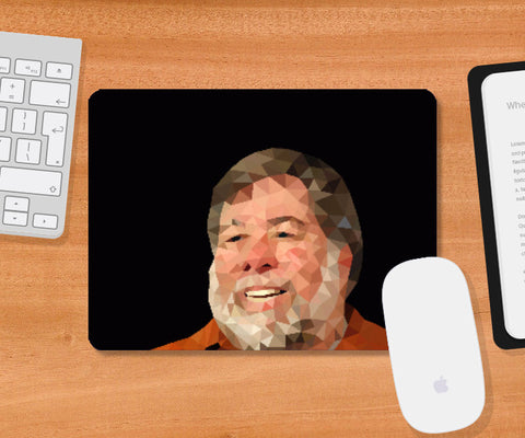 Mousepad, Steve Wozniak Mousepad | Gagandeep Singh, - PosterGully