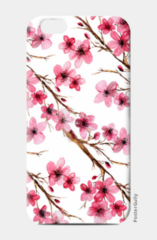 iPhone 6 / 6s, Cherry Blossom Floral Design iPhone 6 / 6s Case l Artist: Seema Hooda, - PosterGully