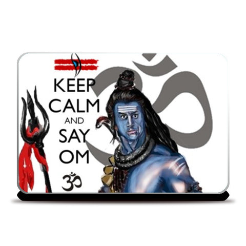 Laptop Skins, Keep Calm with Mahadev  Laptop Skins | Artist : Draw On Demand, - PosterGully