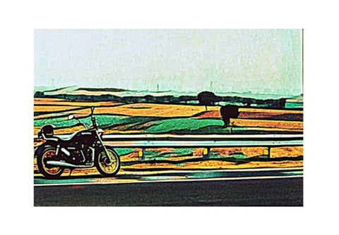 Royal Enfield 2 Art Wall Art  | Artist : Rockpire Designs