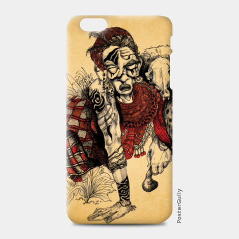 Maasai iPhone 6 Plus/6S Plus Cases | Artist : Aniket Mitra