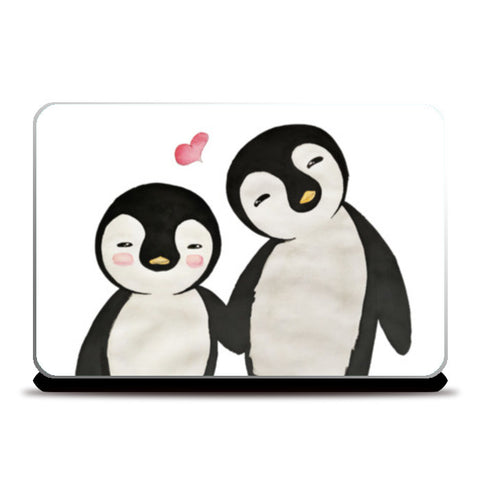 You're My Penguin | Artist: Aparna Singh Laptop Skins | Artist : Aparna Singh