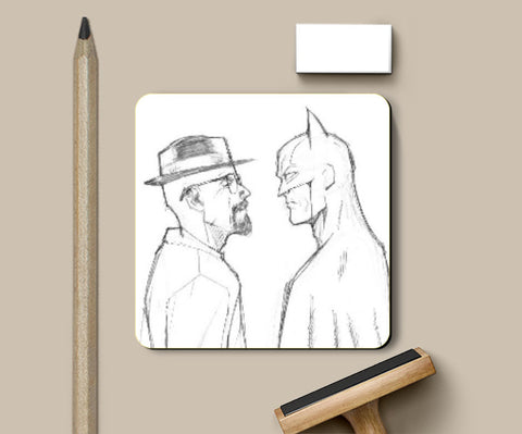 Coasters, Breaking Batman Coaster | Artist: Pankaj Lewarikar, - PosterGully