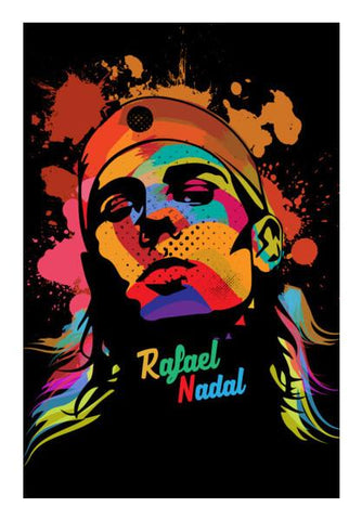 PosterGully Specials, Rafael Nadal Wall Art | Artist : Designerchennai, - PosterGully