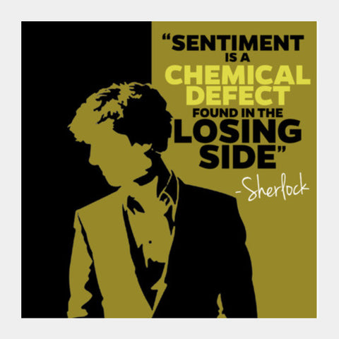 SHERLOCK  Sentiment Quote Art Prints PosterGully Specials