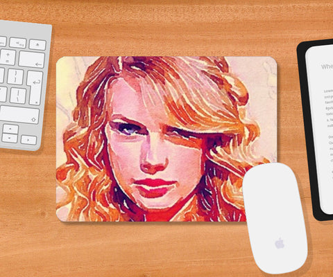 Taylor Swift Mousepad | Artist : Delusion