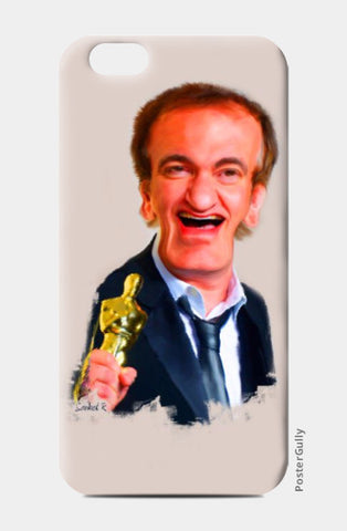iPhone 6 / 6s, Quentin Tarantino with Oscar iPhone 6 / 6s Case | Artist : Sankesura, - PosterGully