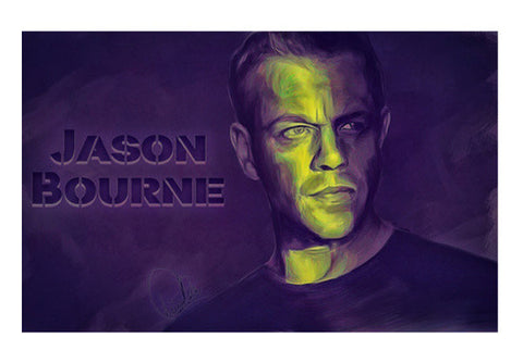 Jason Bourne Wall Art  | Artist : Delusion