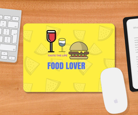 Food Lover Mousepad | Artist : Pallavi Rawal
