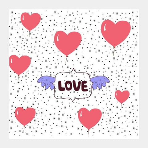 LOVE Square Art Prints PosterGully Specials