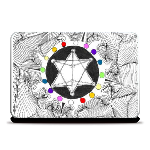 Laptop Skins, Fractal, - PosterGully