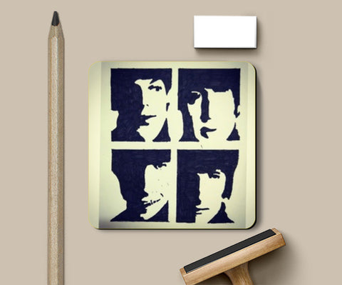 The Beatles Coasters | Artist : Vivek Aind
