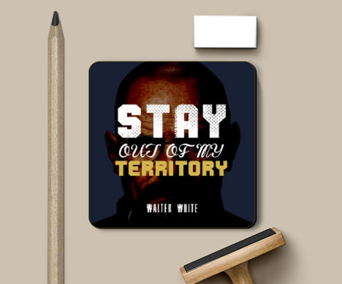 Coasters, Stay out of my territory 2 Coaster | Artist: Prashant Negi, - PosterGully
