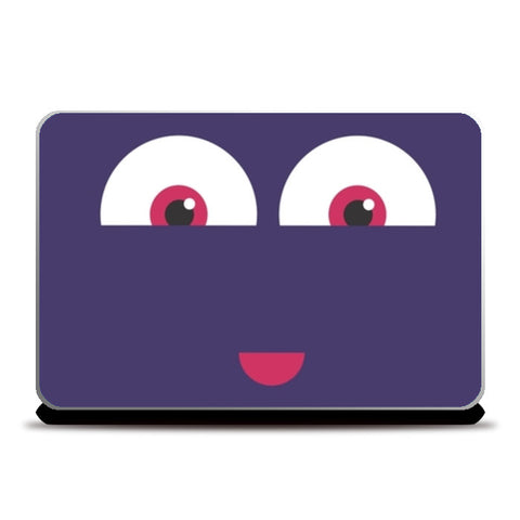 Happy Face Laptop Skins | Artist : Nishit shah