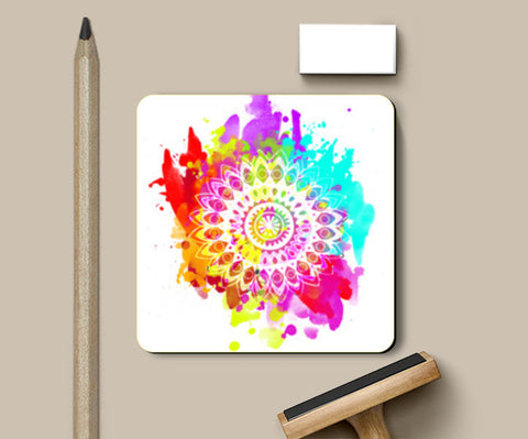 Have a Little Mandala #2 Coasters | Artist : #22