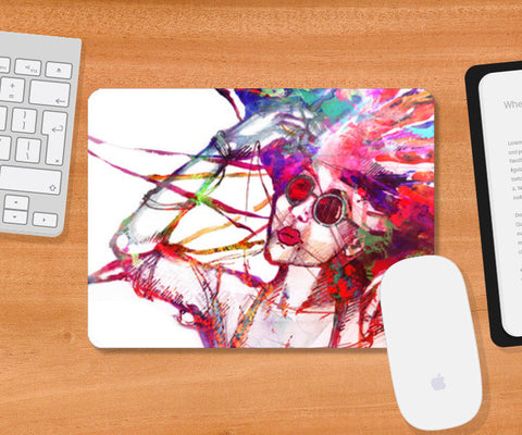Mousepad, Mind Over Matter Mousepad | Artist : Kokila Bhattacharya, - PosterGully