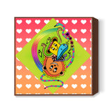 Doodle Luv Square Art Prints | Artist : Design_Dazzlers