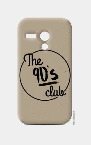 The 90's Club Retro Moto G Cases | Artist : Tushar Gupta