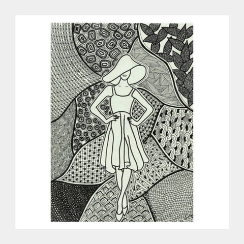Square Art Prints, Swank Square Art Prints | Artist : Navya Rao, - PosterGully