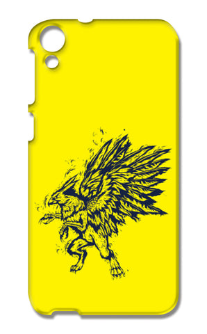 Mythology Bird HTC Desire 820 Cases | Artist : Inderpreet Singh