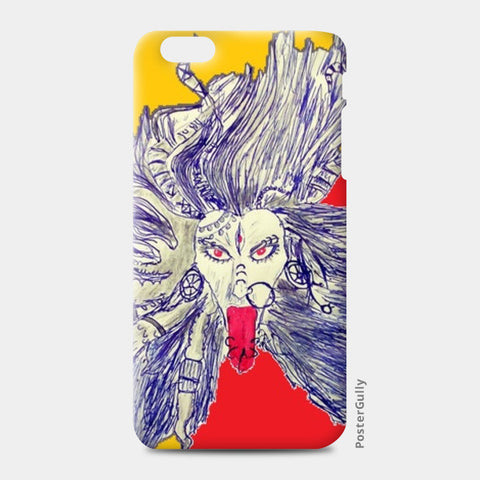 iPhone 6/6S Plus Cases, Goddess Kaali iPhone 6 Plus/6S Plus Cases | Artist : Piyush Sain, - PosterGully