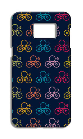 Bicycle Wheels With Colored Samsung S6 Edge Plus Tough Cases | Artist : Designerchennai