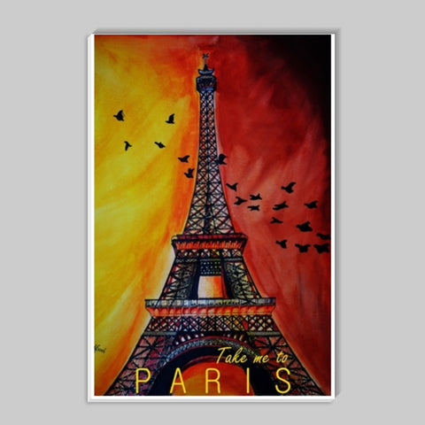 Paris, please? Stick Ons | Artist : Chahat Suri